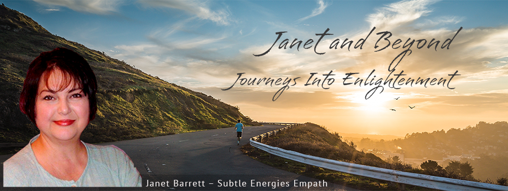 Site banner: Janet Barret - Consciousness Educator and Subtle Energies Empath