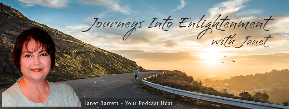 Site banner: Janet Barrett - Your podcast host